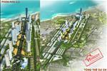 Phối cảnh phân khu 2, 3 của khu trung tâm đô thị thương mại – dịch vụ tài chính – du lịch Nha Trang.