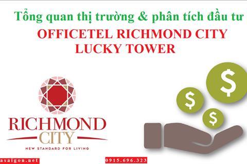Officetel + Căn hộ + Shophouse Richmond City bùng nổ thị trường BĐS quận Bình Thạnh, chỉ từ 939 tr