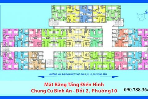 Bán chung cư Bình An, phường 10, Vũng Tàu-thanh toán 50% nhận nhà ngay, giá gốc chủ đầu tư