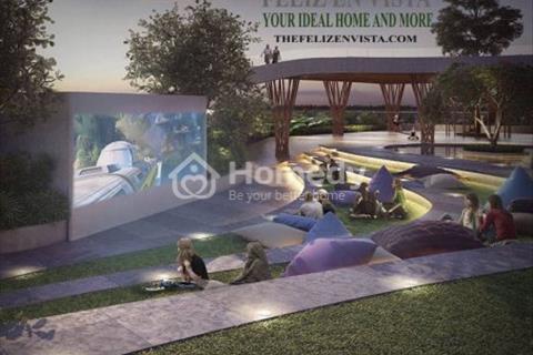 Căn hộ thông tầng trên cao, có sân vườn, diện tích 105m2, giá chỉ từ 33 tr/m2