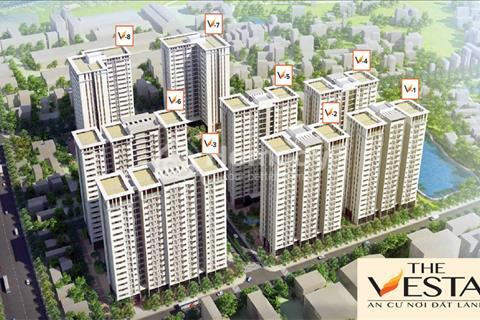 Chính chủ bán căn hộ 903, 71m, tòa V3 dự án The Vesta. BC hướng Nam, tết nhận nhà, 950tr
