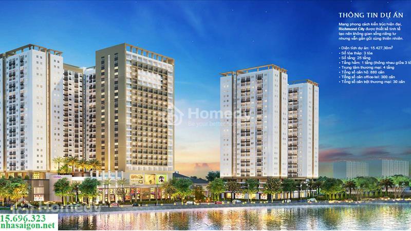 Officetel + Căn hộ + Shophouse Richmond City bùng nổ thị trường BĐS quận Bình Thạnh, chỉ từ 939 tr - 27