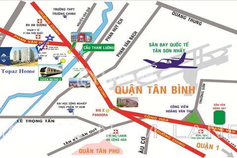 Căn hộ Topaz Home ngay cầu Tham Lương giá chỉ 699 triệu/căn 2 phòng ngủ
