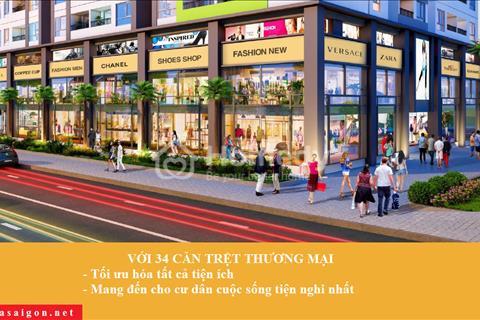 Sang nhượng căn trệt thương mại Quận 6, Bình Tân, Tân Phú, giá 2,5 tỷ/căn