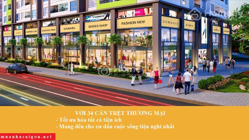 Sang nhượng căn trệt thương mại Quận 6, Bình Tân, Tân Phú, giá 2,5 tỷ/căn - 1