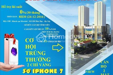 Bán Condotel Gold Coast Nha Trang Center 2- Cam kết LN 10%/năm, CK 11%, tặng vàng khi mở bán