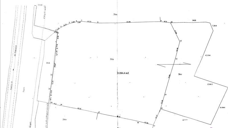 Bán đất xây xưởng ở TL15, SHR, giá 1,3 triệu/m2 . Tôi có 1,1 ha - 1