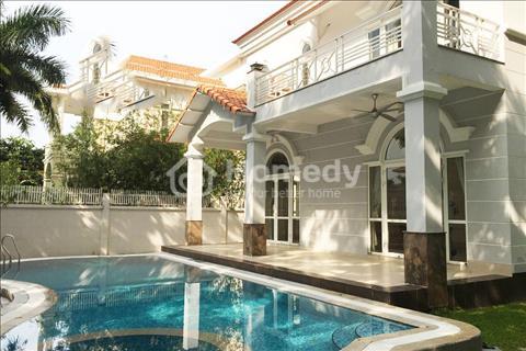 Cho thuê nhà biệt thự quận 2, giá 18 triệu/tháng (2 lầu, Hầm, Hồ bơi)