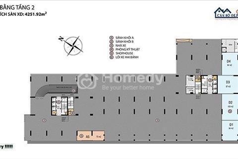 Chỉ với 1,5 tỷ có thể sở hữu căn hộ 3 mặt tiền Võ Văn Kiệt qua trung tâm Q1 chỉ 10p, ck 8%, 15 chỉ