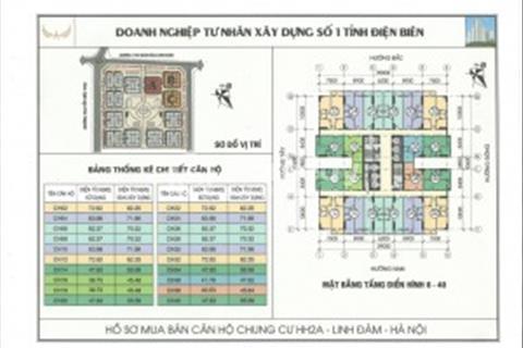 Có ngay căn 1 phòng ngủ 790 triệu chung cư HH2A Linh Đàm!!!