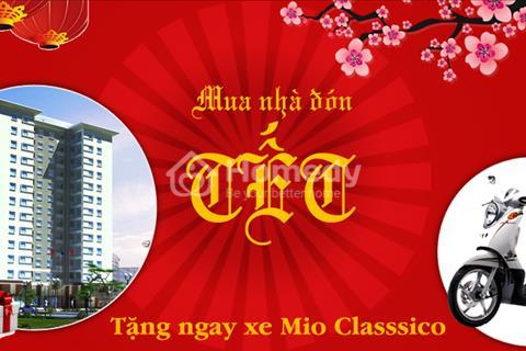 100% nhận xe ga Mio Classico khi mua 1 căn hộ Mini Xuân Đỉnh. Ở ngay!!!