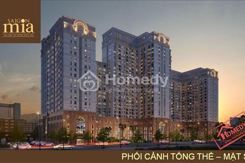 Căn hộ cao cấp Sài Gòn Mia, Đường 9A khu dân cư Trung Sơn, giá 1,9 tỷ căn