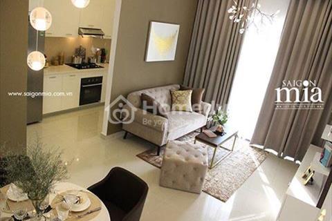 Saigon Mia, căn hộ đỉnh cao, chuẩn 5 sao thiết kế theo chuẩn châu Âu
