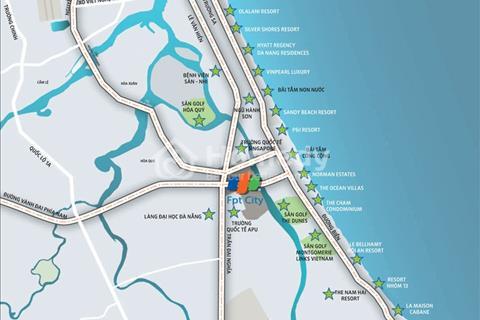 Mở bán khu nhà phố đẹp nhất dự án FPT City Đà Nẵng giá chỉ từ 1,517 tỷ