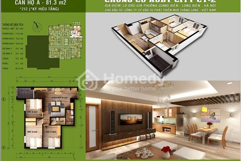 Chung cư Ruby City càn bán các căn hộ từ 45 - 81 m2, nhận nhà ở ngay, giá hấp dẫn