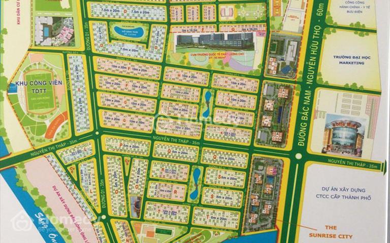 Cho thuê biệt thự khu phố thương mại Nguyễn Thị Thập, khu đô thị Him Lam Quận 7