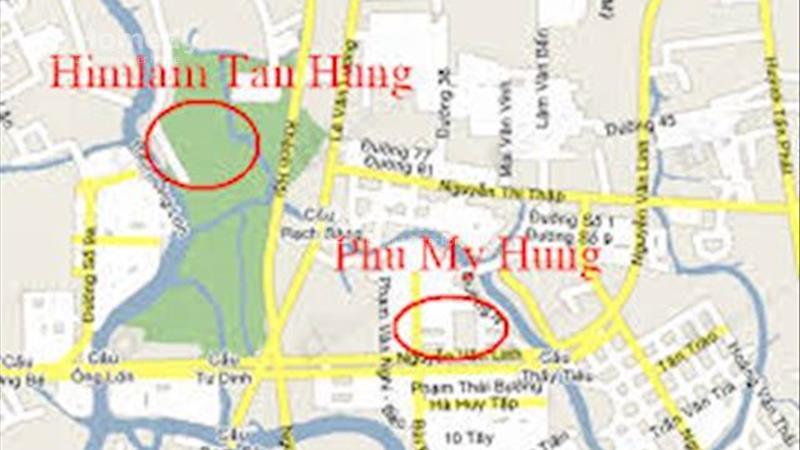 Cho thuê biệt thự khu phố thương mại Nguyễn Thị Thập, khu đô thị Him Lam quận 7. - 3