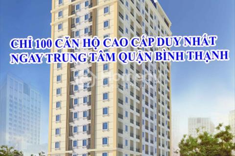 Chỉ 95 căn hộ ngay chợ Bà Chiểu, thanh toán theo tiến độ xây dựng