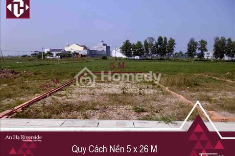 Bán đất thổ cư hóc môn, DT 168m2, SHR, gần chợ & trường học