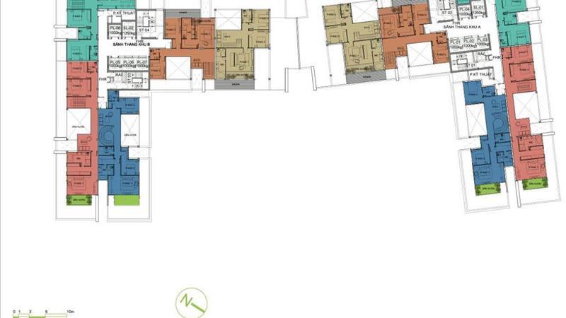 Đầu tư shophouse - Officetel Millennium Bến Vân Đồn, liền kề quận 1 - 4