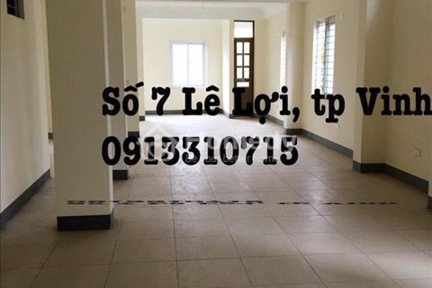 Cho thuê văn phòng tại đường Lê Lợi, Vinh, Nghệ An