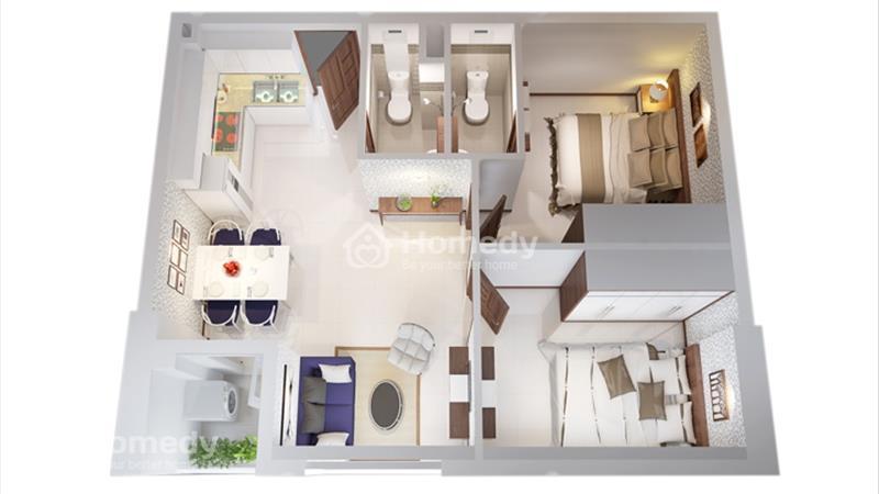 Cần bán 2 căn IDICO Tân Phú - Gần Đầm Sen - 1,26 tỷ/Căn - Nhận nhà ở ngay  - 7