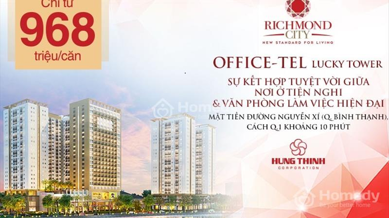 Mua văn phòng làm việc rẻ hơn đi thuê - Officetel Richmond City chỉ 939 triệu/căn - 12