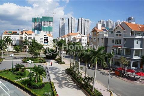 Cho thuê nhà phố Him Lam Kênh Tẻ, 5x20m, hầm, trệt, 2 lầu, sân thượng, giá 39 triệu/tháng