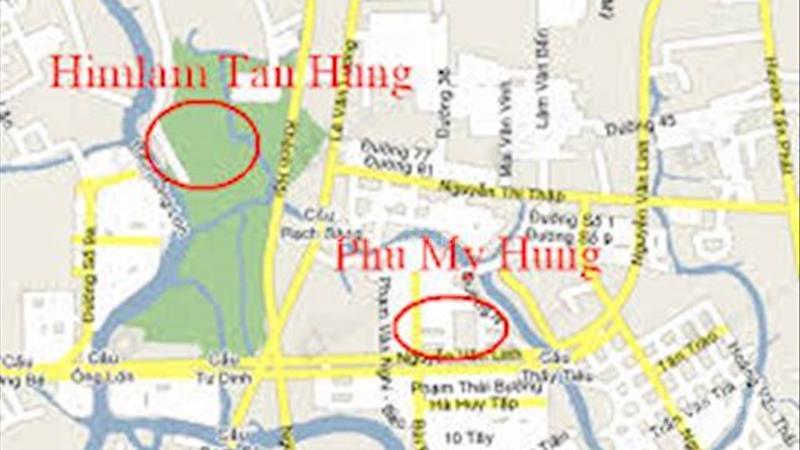 Cho thuê biệt thự mặt tiền Nguyễn Thị Thập, dt 20x20 = 400m2, giá 300 triệu/tháng - 4
