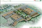 Phối cảnh tổng thể của dự án Vạn Phúc City