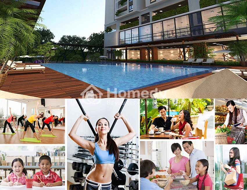 Tiện ích vượt trội của khu dự án Chung cư Five Star Garden