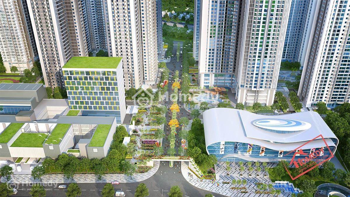Goldmark City với cấu trúc thiết kế hiện đại đem tới cho cư dân Thủ đô không gian sống đẳng cấp.
