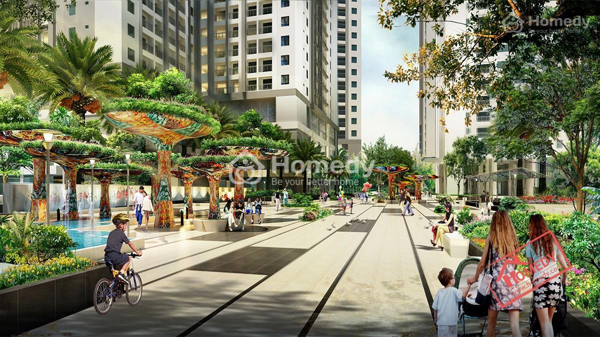 Goldmark City làsự kết hợp hài hòa giữa không gian sống vàcảnh quanthiên nhiên.