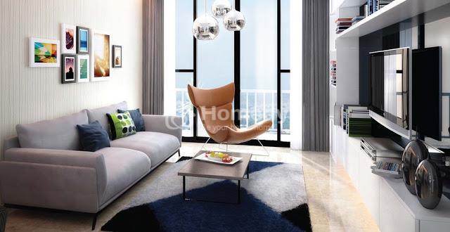Diện tích căn hộ linh hoạt với nội thất cao cấp tại Goldseason