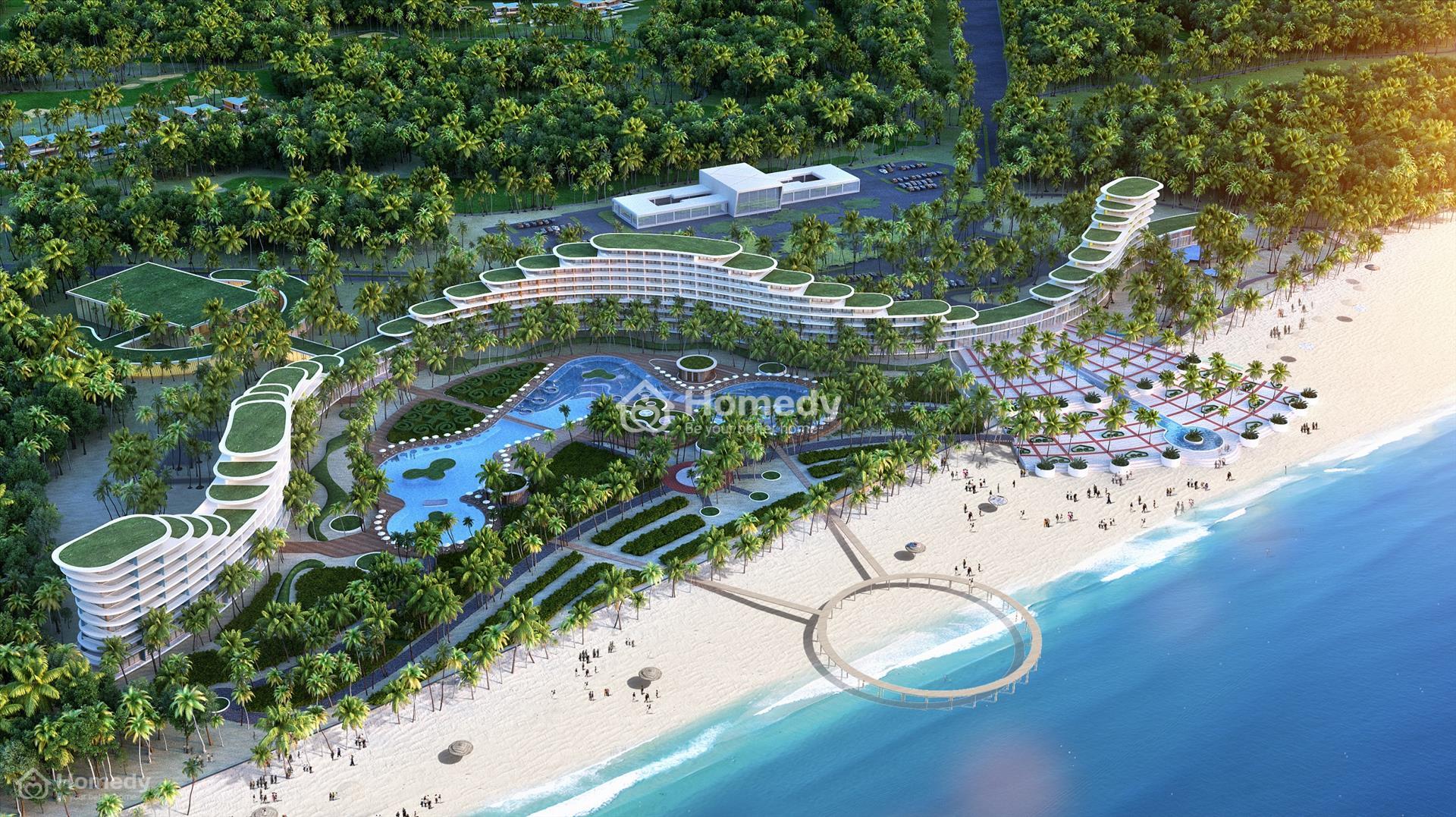 Diện mạo mới của một phần bãi biển Sầm Sơn với khu du lịch nghỉ dưỡng Sầm Sơn