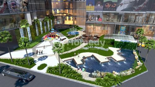 Quy hoạch không gian xanh tại dự án FLC Twin Towers