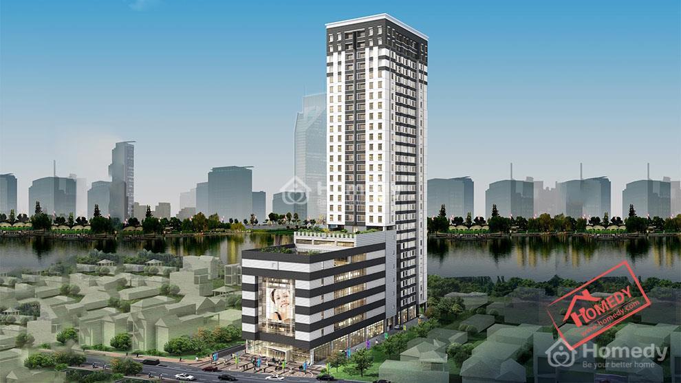 Phối cảnh tòa tháp Sài Gòn Plaza Tower