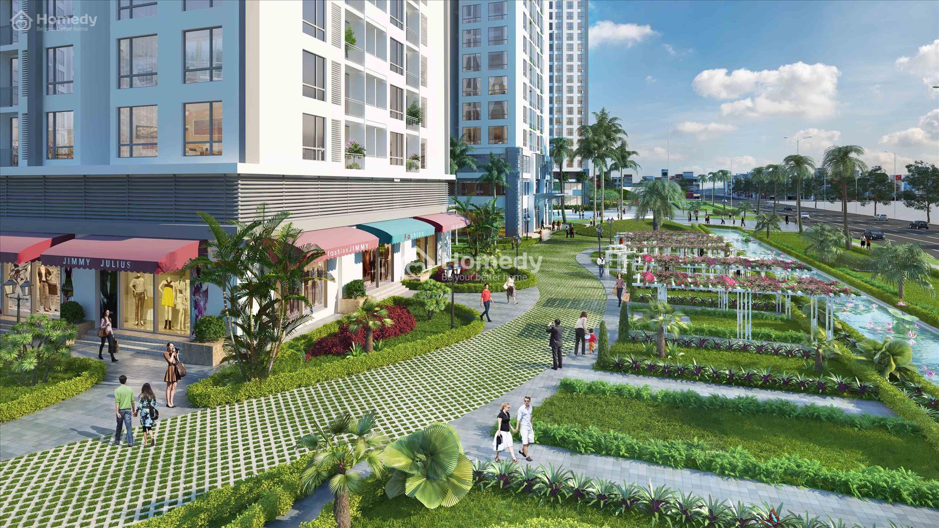 Khung cảnh xanh đẳng cấp tại Park Hill Premium