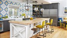 Biến hóa phòng bếp cũ thành không gian sống phong cách