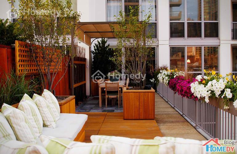 vườn trên sân thượng 5