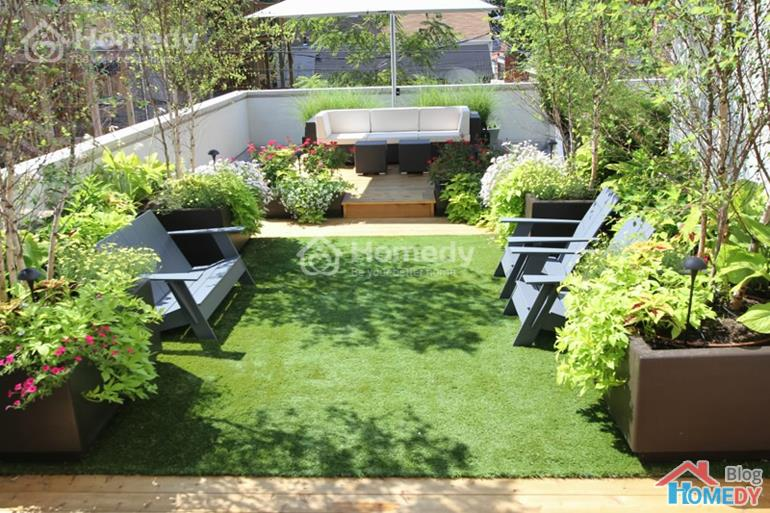 vườn trên sân thượng 6