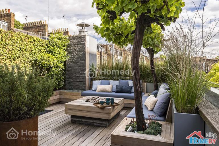 vườn trên sân thượng 4