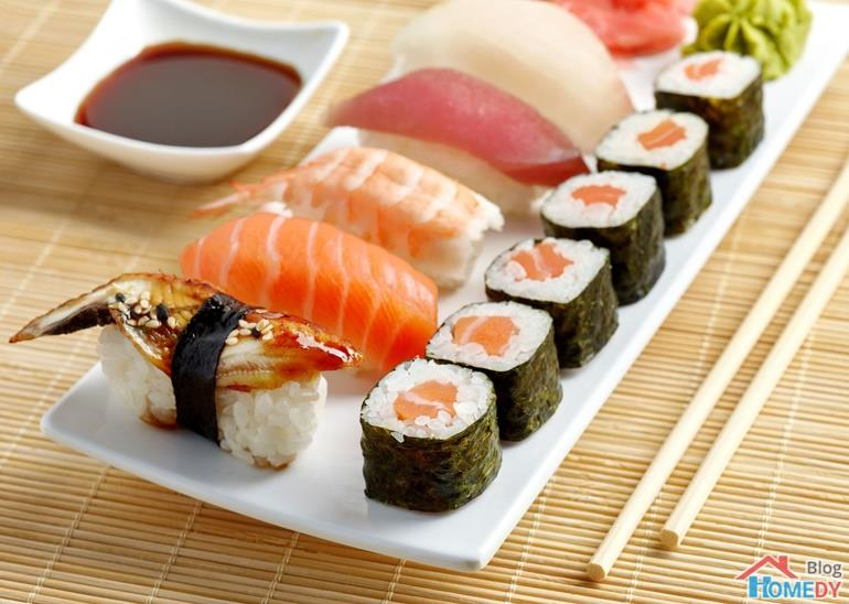 sushi nguoi my an gi