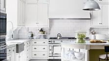 5 ý tưởng thiết kế tuyệt vời dành cho phòng bếp màu trắng
