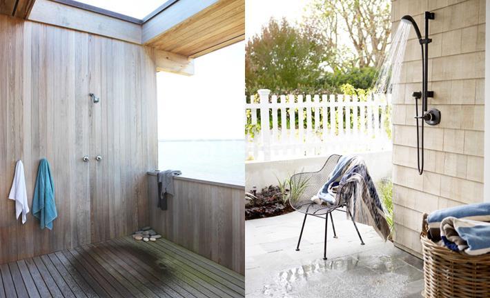 7 mẫu thiết kế phòng tắm ngoài trời giúp không gian mở rộng