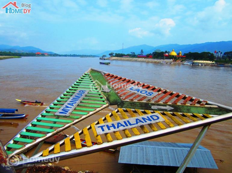 bien gioi Thai Lan, Lao, Myanmar