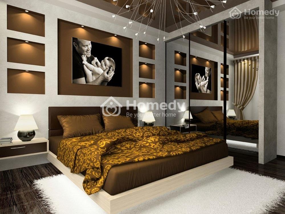Phòng ngủ mệnh Kim 2
