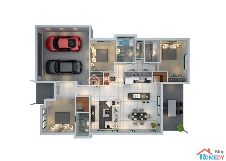 mẫu căn hộ 3D 7
