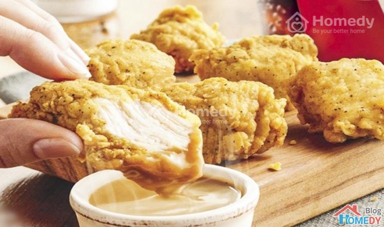 Công thức nấu gà KFC 3