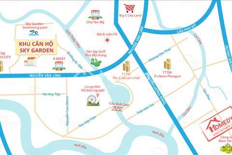Cho thuê căn hộ Sky Garden2 88m2 3 phòng ngủ giá rẻ!!!
